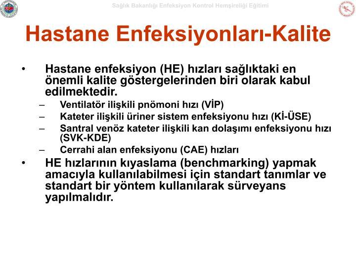 Hastane Enfeksiyonları-Kalite