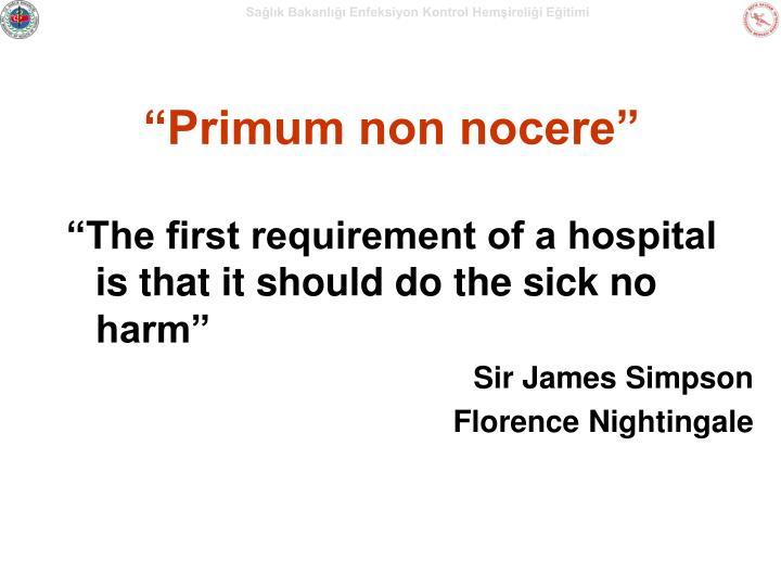 """""""Primum non nocere"""""""