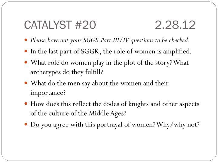 CATALYST #202.28.12