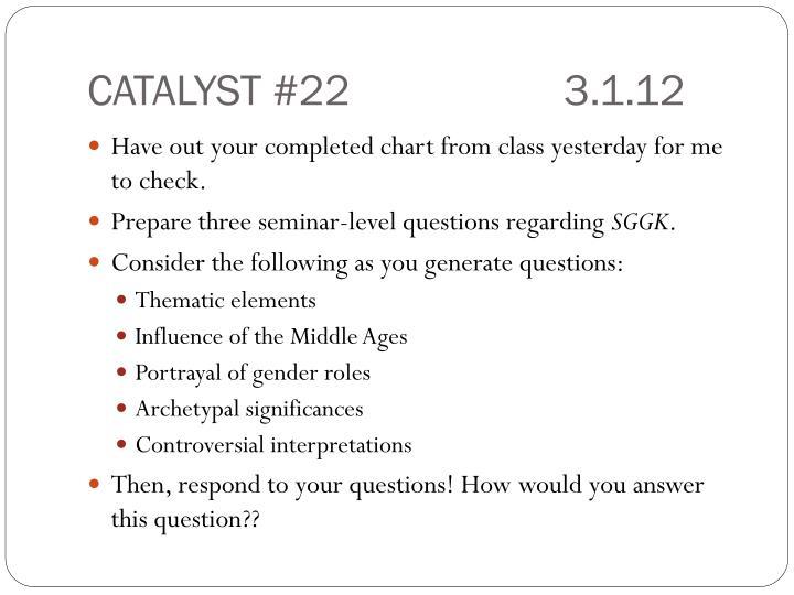 CATALYST #223.1.12
