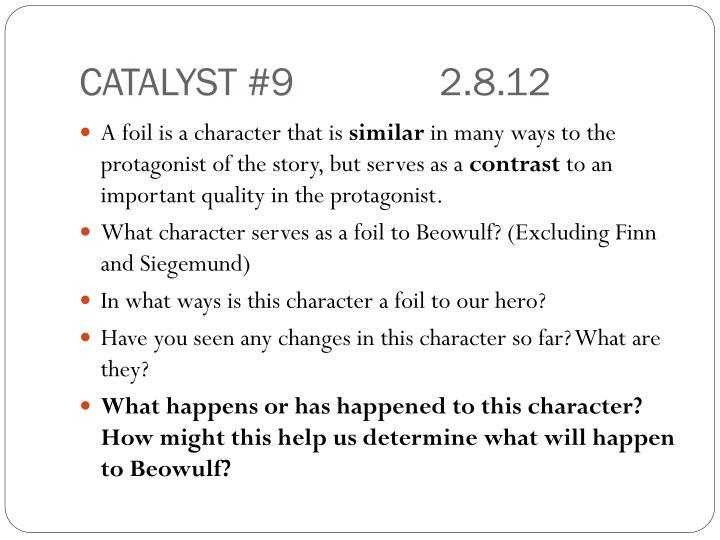 CATALYST #92.8.12