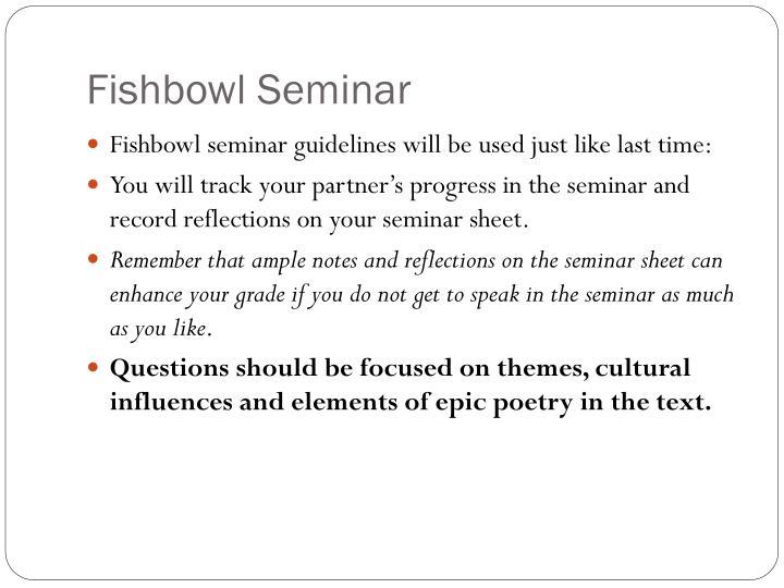 Fishbowl Seminar