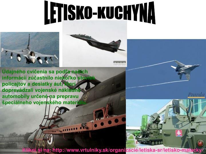 LETISKO-KUCHYNA