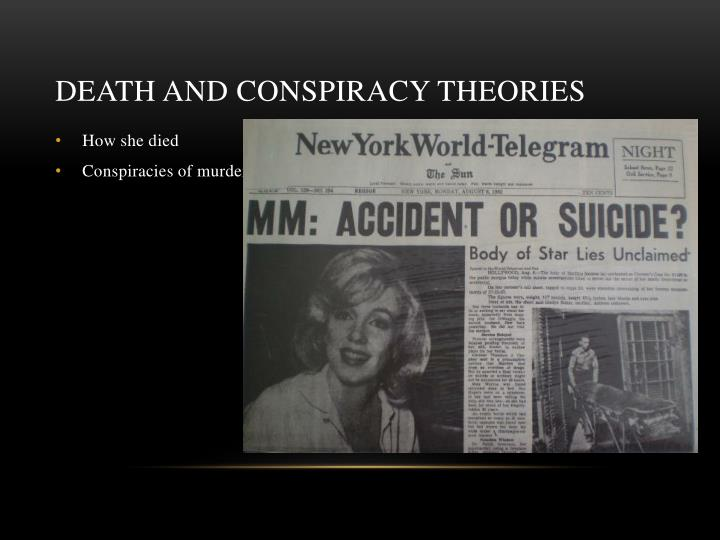 Death and conspiracy theories