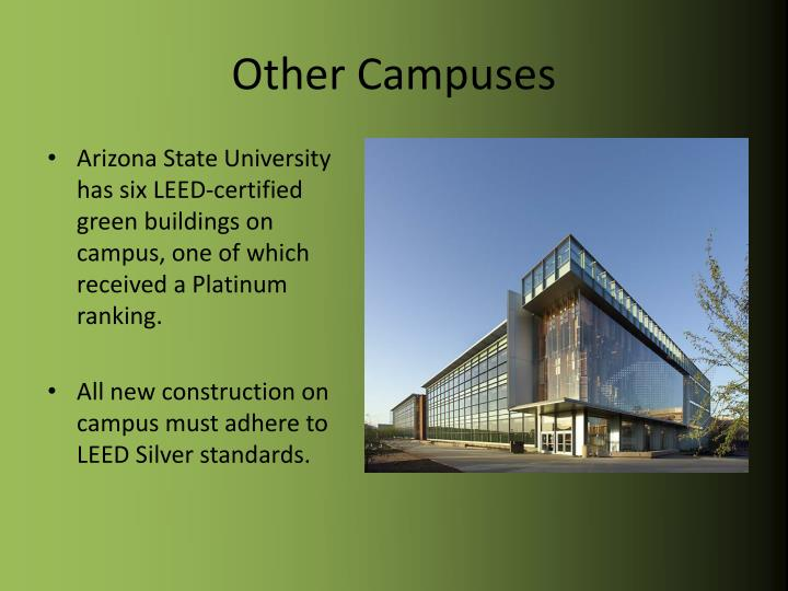 Other Campuses