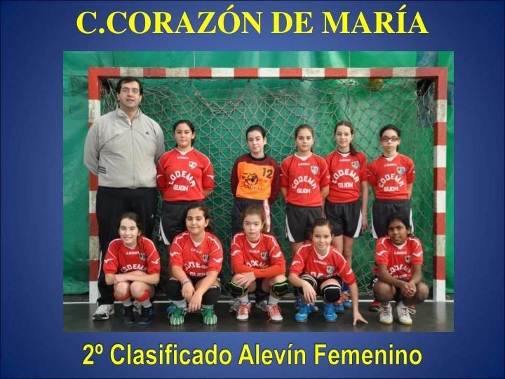 C.CORAZÓN DE MARÍA