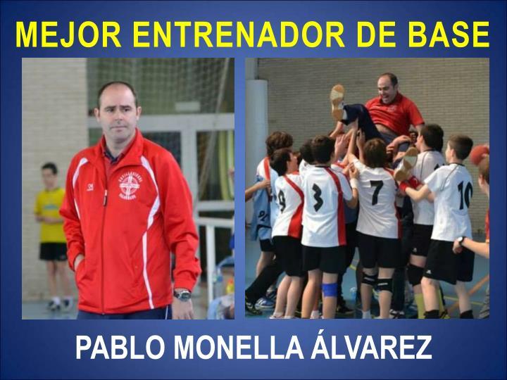 MEJOR ENTRENADOR DE BASE