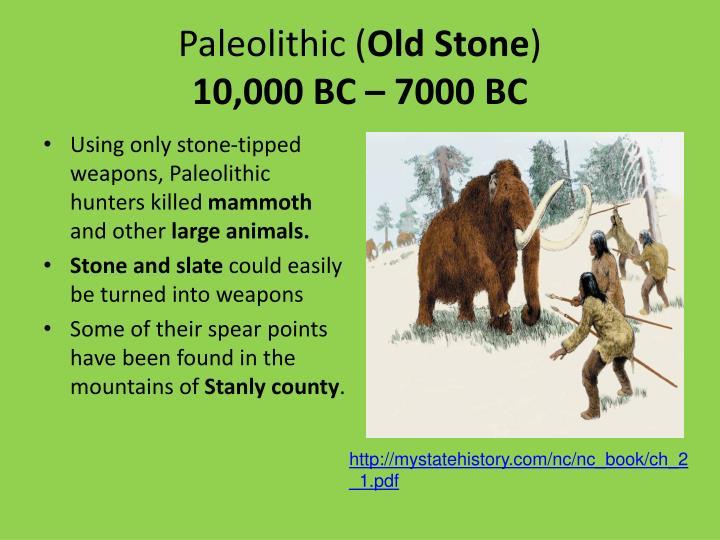 Paleolithic (