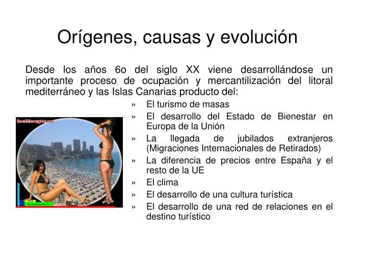 Orígenes, causas y evolución