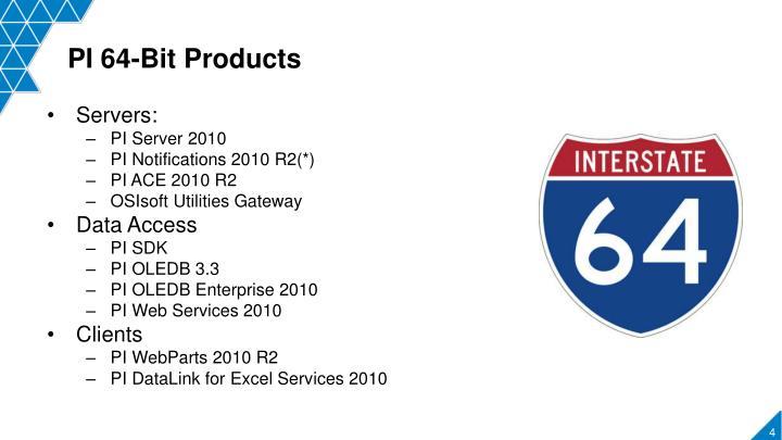PI 64-Bit Products