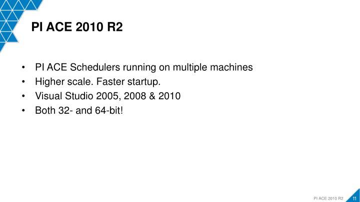 PI ACE 2010 R2