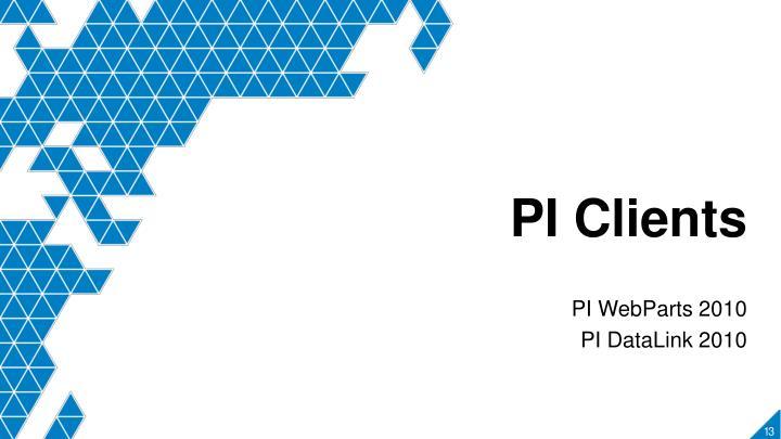 PI Clients