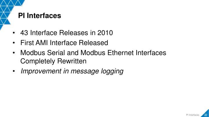 PI Interfaces