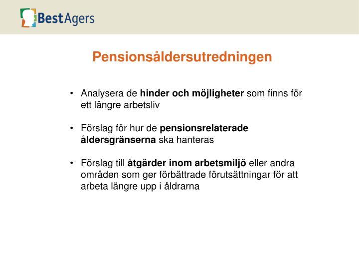 Pensionsåldersutredningen