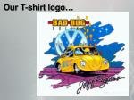 our t shirt logo