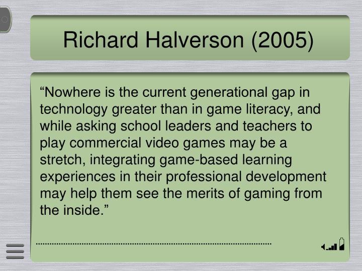 Richard Halverson (2005)