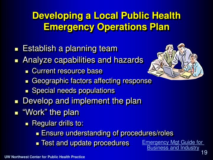 Developing a Local Public Health