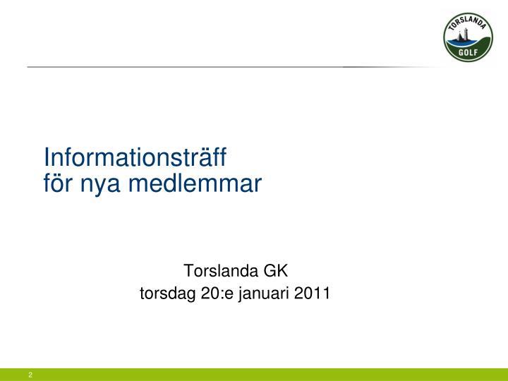 Informationsträff