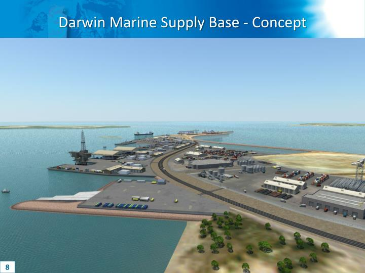 Darwin Marine Supply Base - Concept