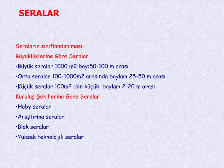 SERALAR