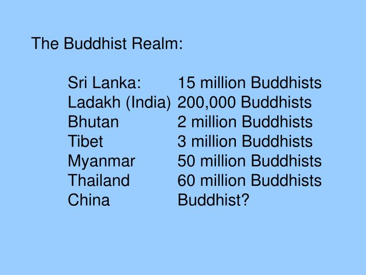 The Buddhist Realm: