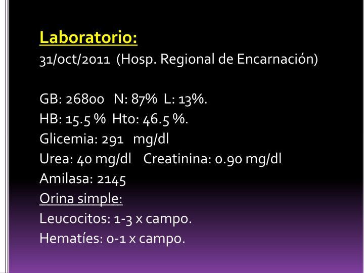 Laboratorio: