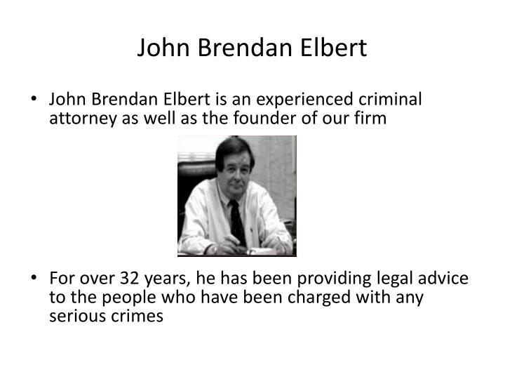 John Brendan Elbert