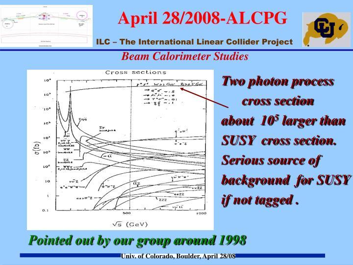 Beam Calorimeter Studies