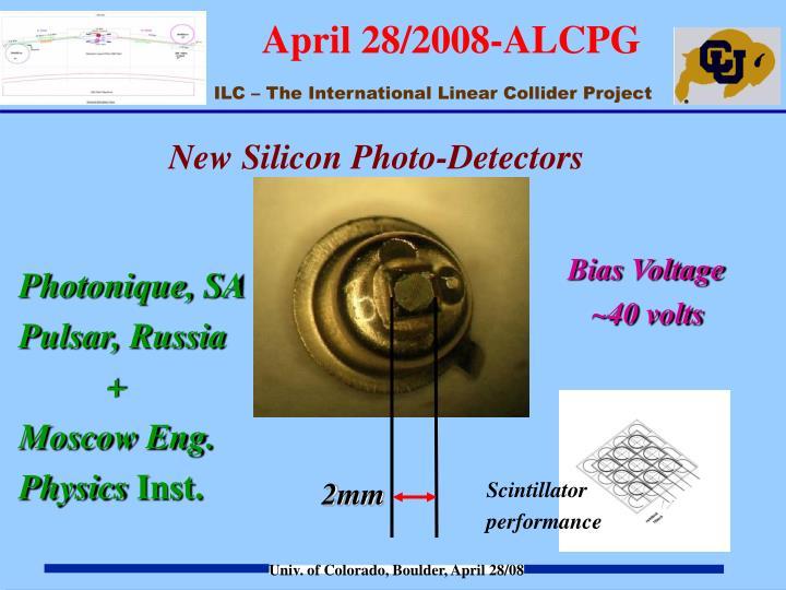 New Silicon Photo-Detectors