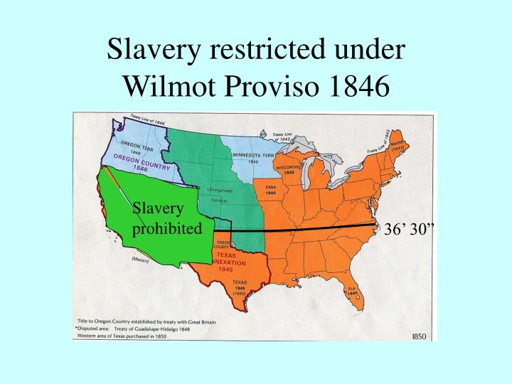 Slavery restricted under