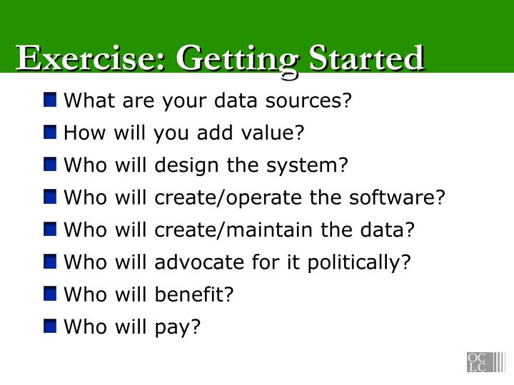 Exercise: Getting Started
