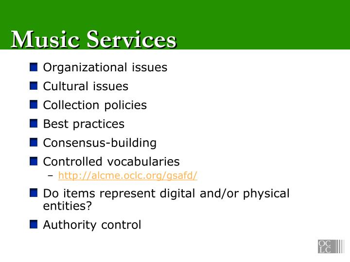 Music Services