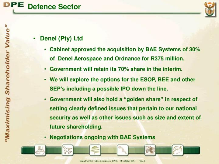 Defence Sector