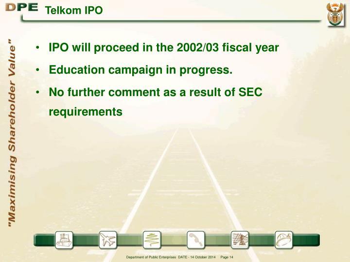 Telkom IPO
