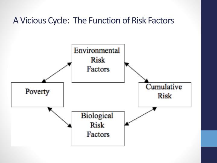 A Vicious Cycle:  The Function of Risk Factors