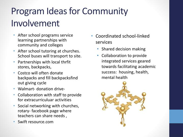 After school programs service learning partnerships with community and colleges