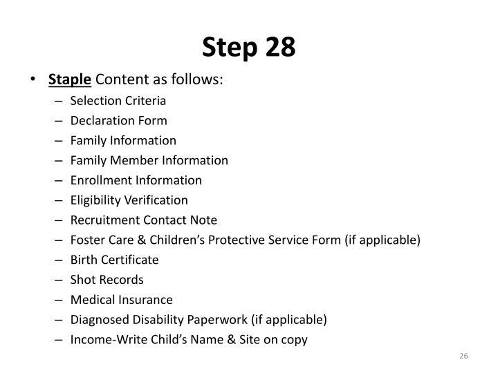 Step 28