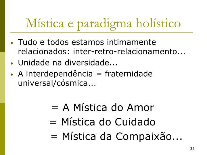 Mística e paradigma holístico