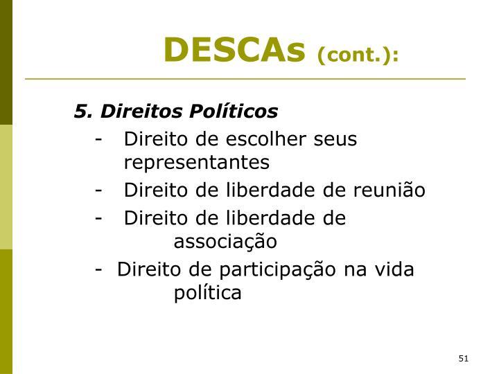 5. Direitos Políticos