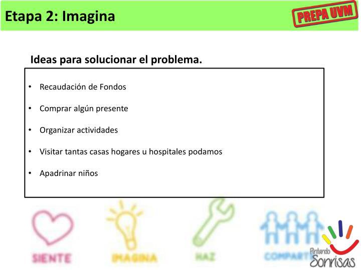 Etapa 2: Imagina