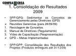 1 consolida o do resultados 2009