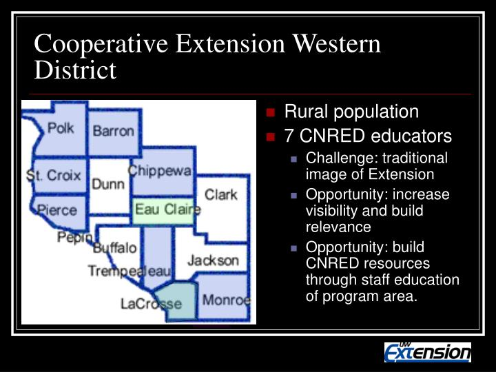 Cooperative Extension Western District