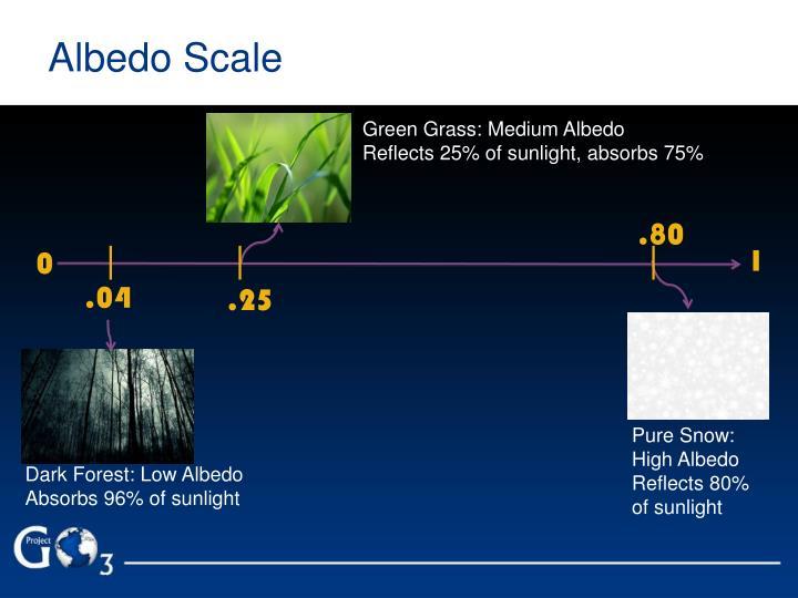 Albedo Scale