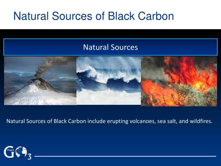 Natural Sources of Black Carbon