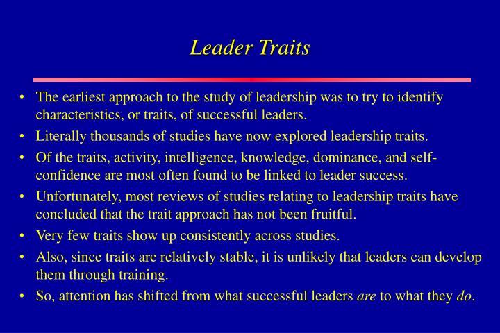 Leader Traits