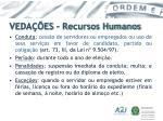 veda es recursos humanos