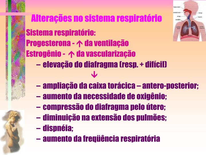 Alteraes no sistema respiratrio