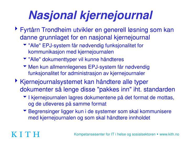Nasjonal kjernejournal