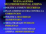 nueva agenda multidimensional andina1