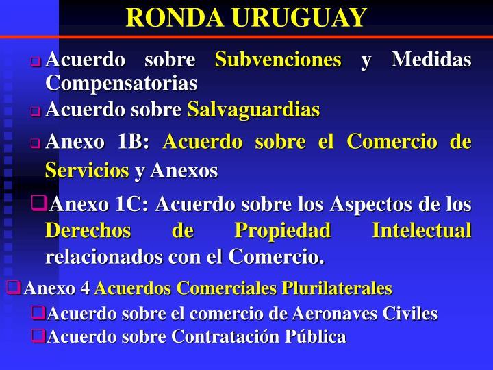 RONDA URUGUAY